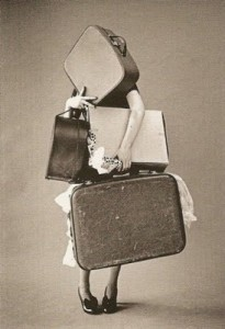 carrying baggage
